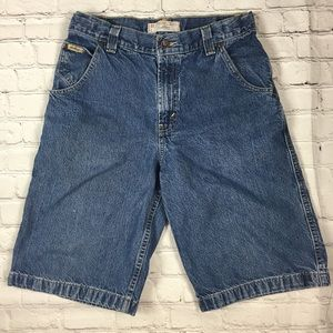 Levi Strauss Blue Denim Boys Shorts sz 16